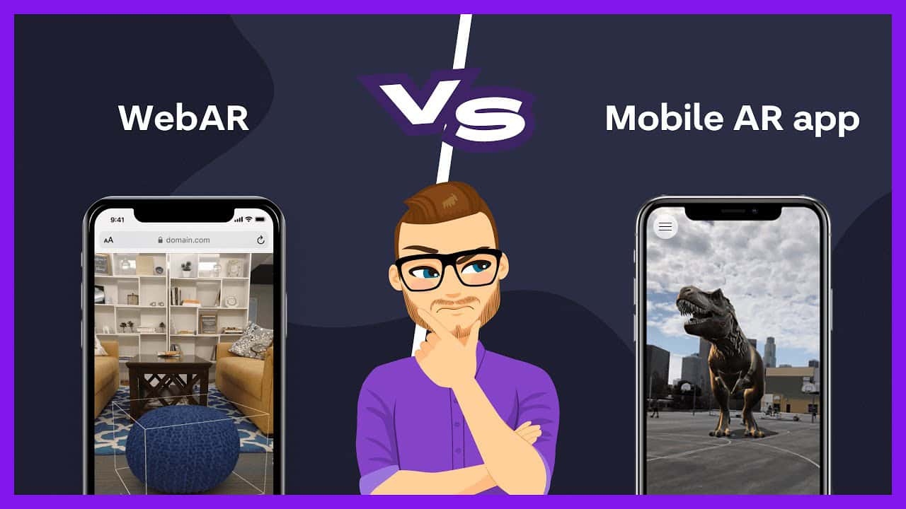 Augmented Reality App vrs WebAR